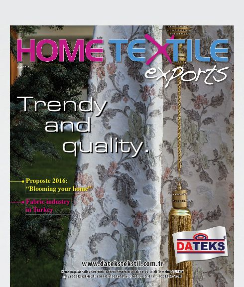 a study on home textile export Instant access to apparel, textiles and fashions market research, business analysis, industry trends, statistics, forecasts, revenues, and mailing lists.